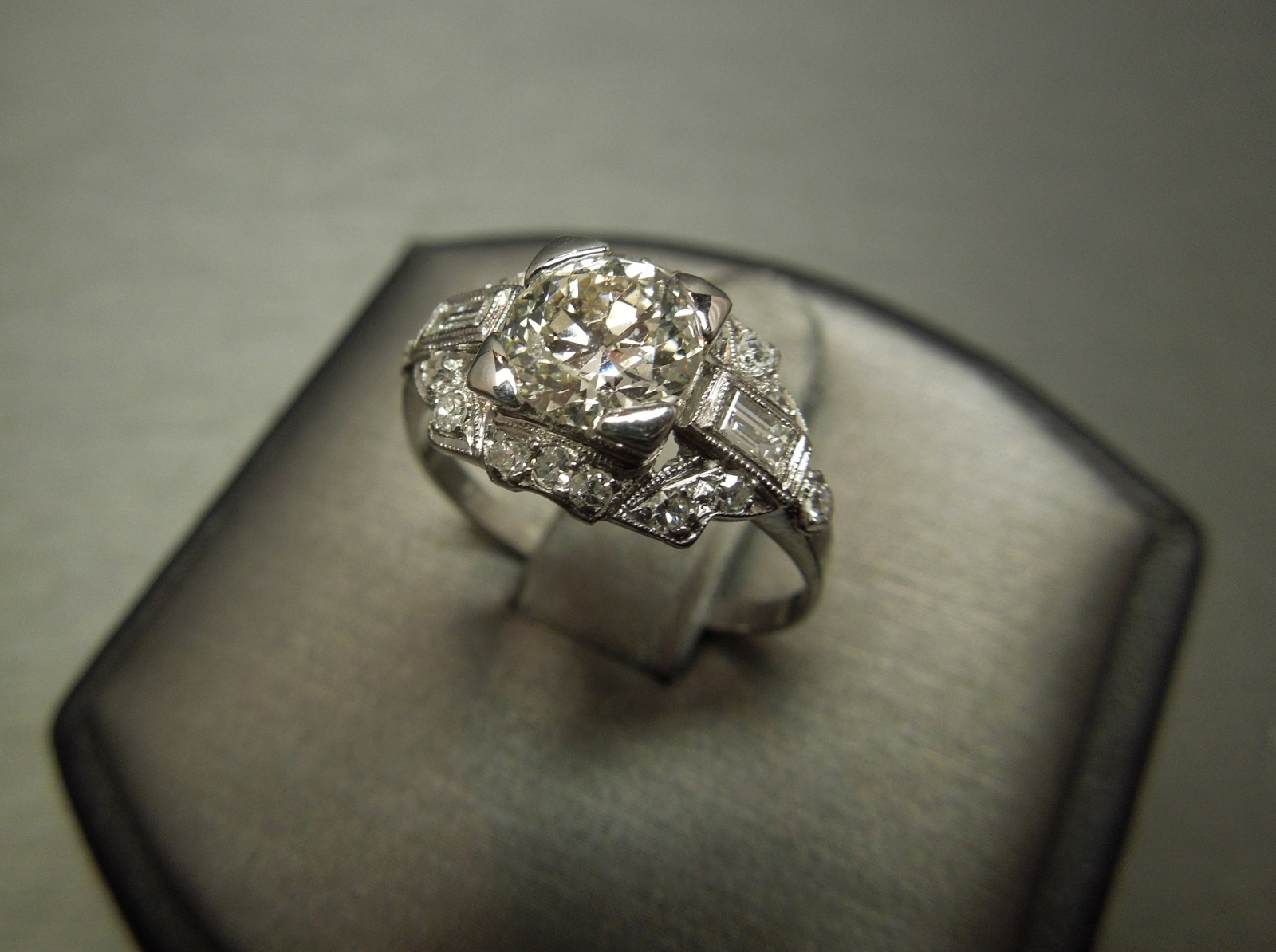 Old European Cut Diamond Rings For Sale