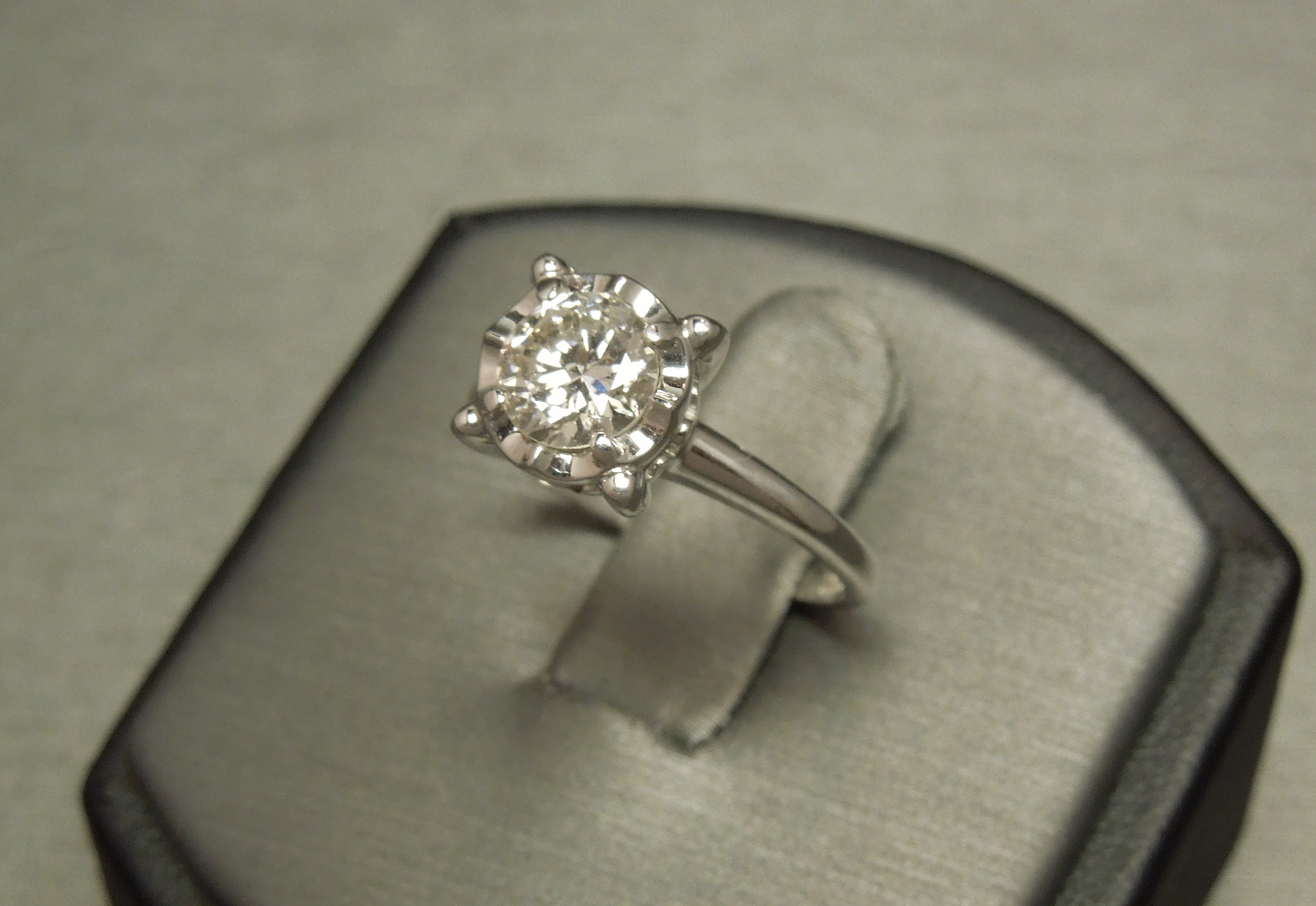 and simple halo band thin home rings pin with verragio for square mounting engagement ring diamond