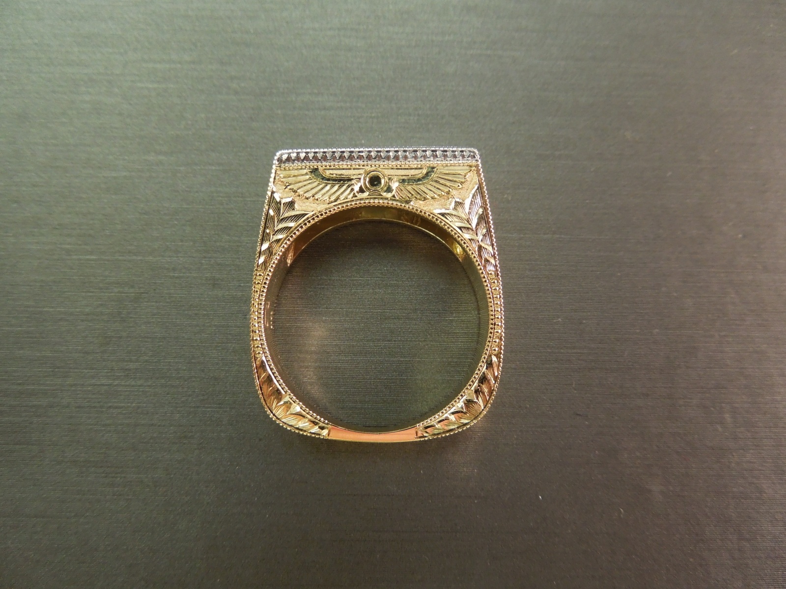 Galaxy Gold Rings For Men